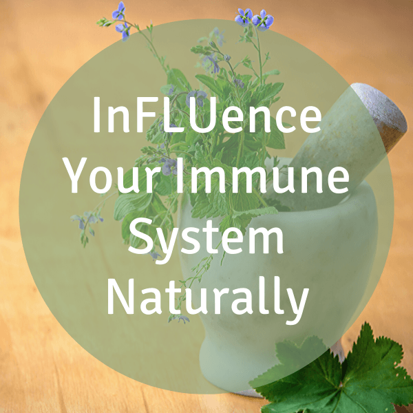 Influence your immune system naturally icon