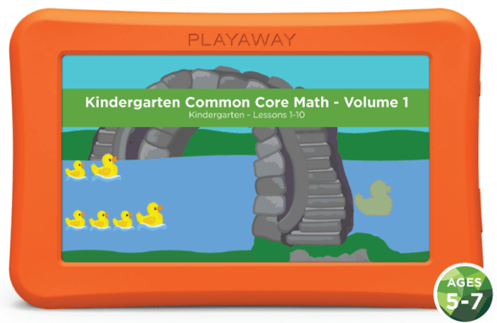 Kindergarten Common Core Math- Volume 1