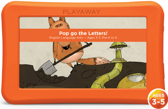 pop go the letters