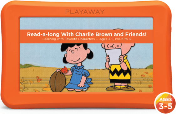 read along with charlie brown and friends
